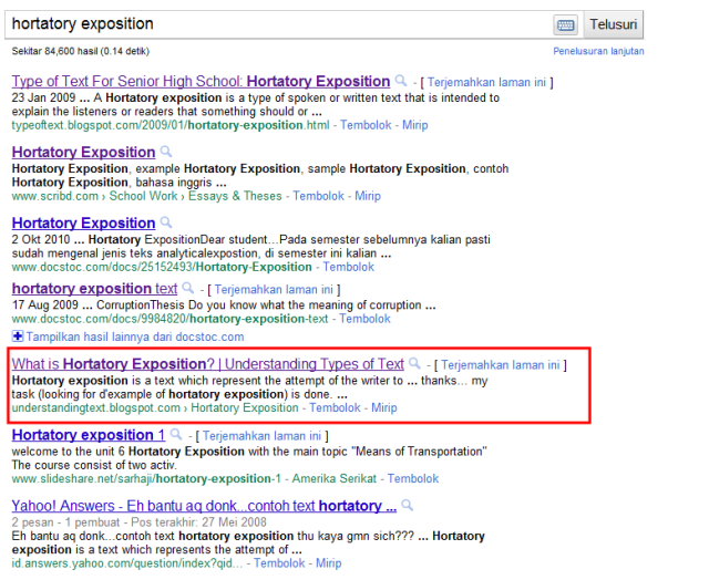 Where The Hell Is Hortatory Exposition Why English Problem Why